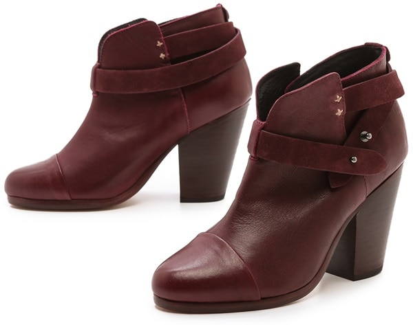 Rag & Bone Red Harrow Booties