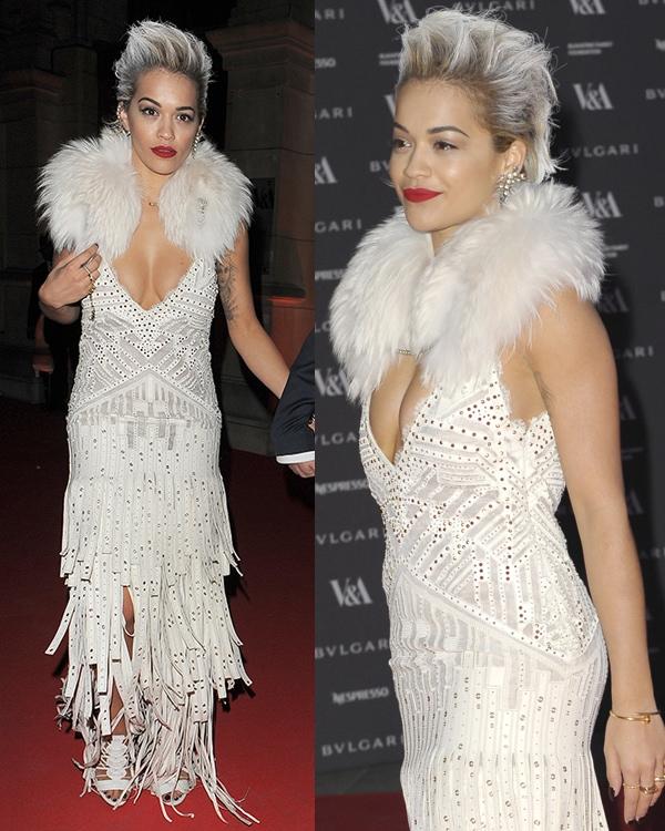 Rita Ora The Glamour of Italian Fashion1