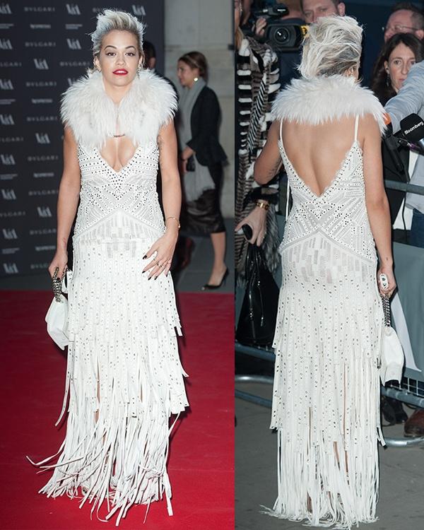 Rita Ora The Glamour of Italian Fashion2