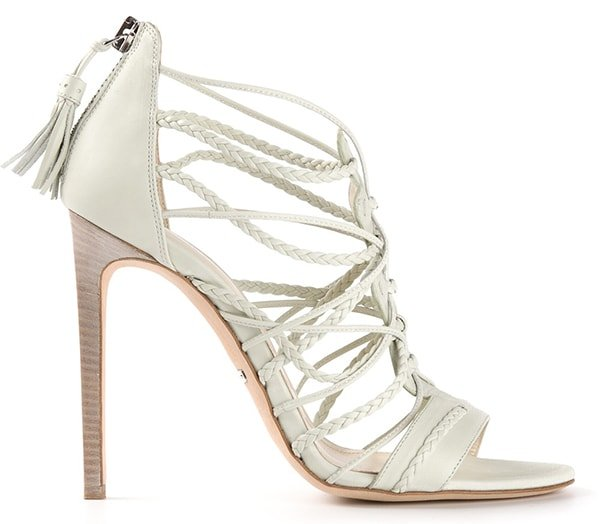 Roberto Cavalli Woven Sandals1