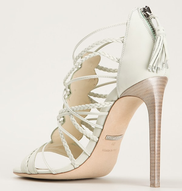 Roberto Cavalli Woven Sandals2