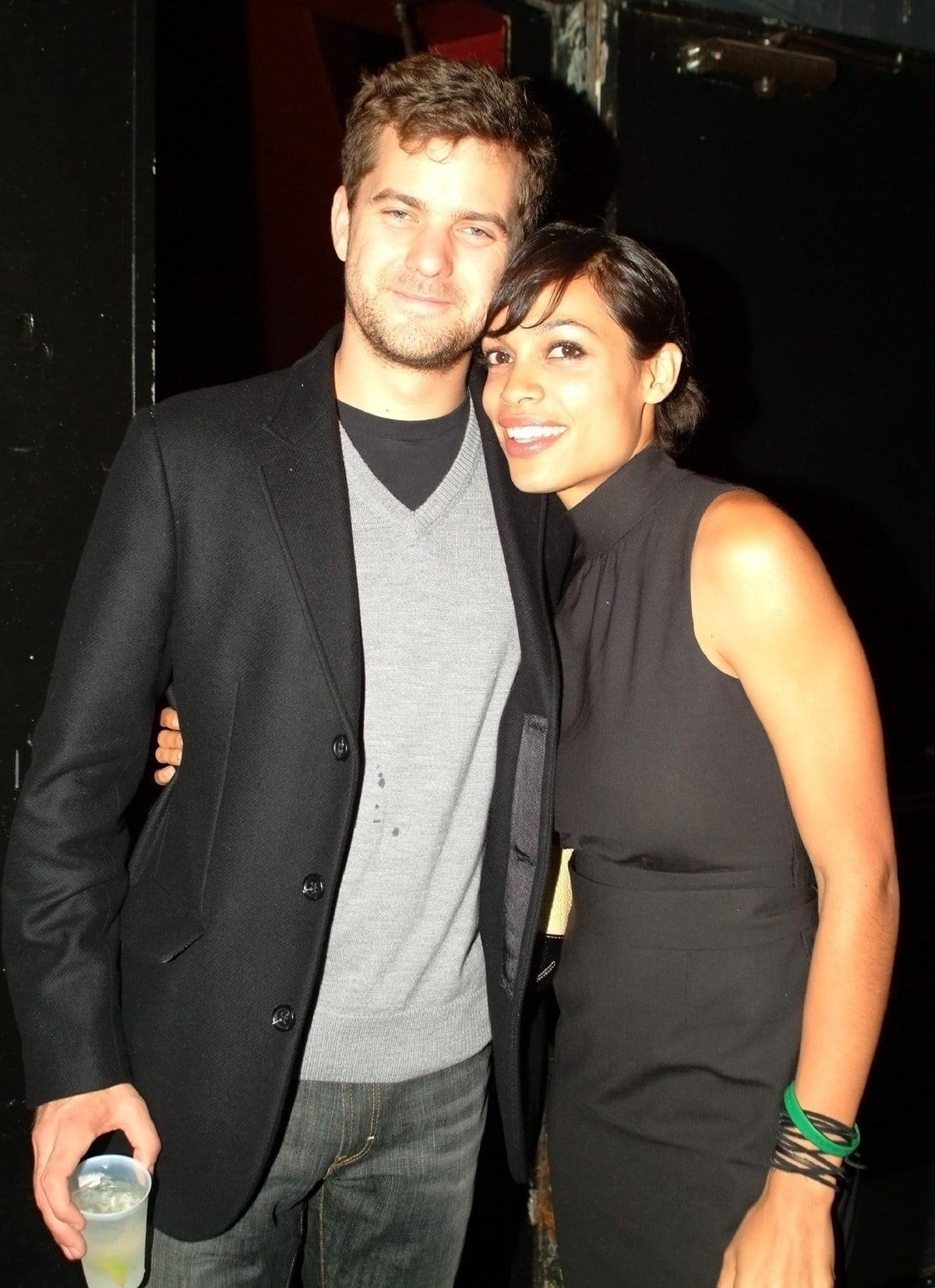 Rosario Dawson dated Joshua Jackson for about a year