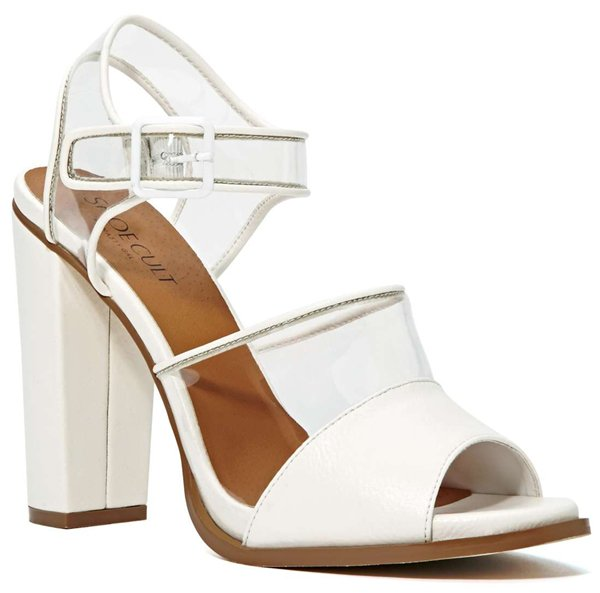 Shoe Cult Clarity Sandal