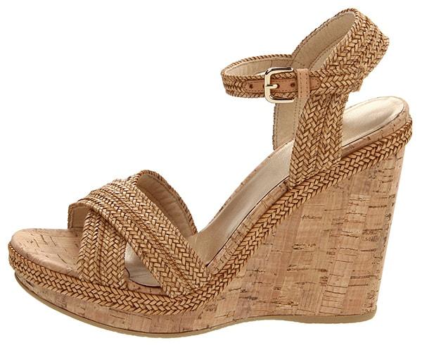 Stuart Weitzman Minx Wedge Sandals1