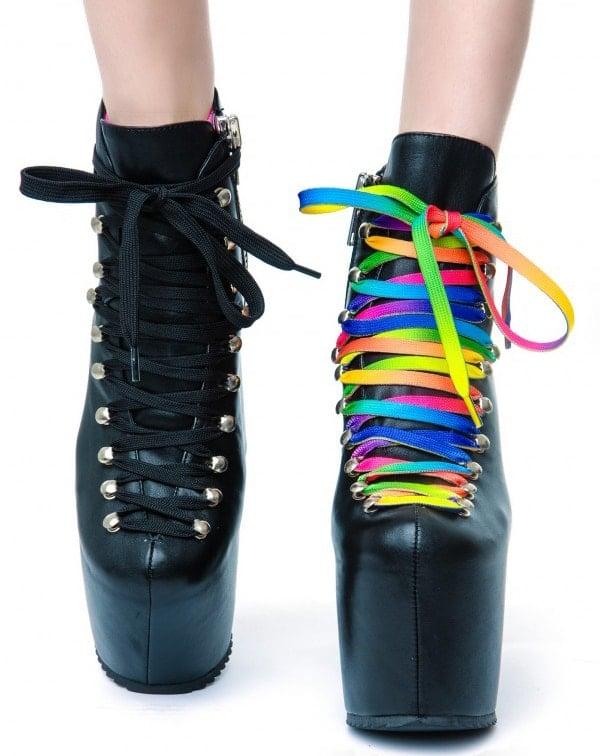 Unif The Hellbound Platform Shoes Black