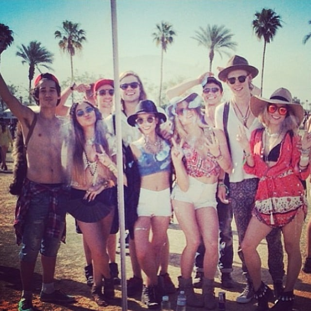 Vanessa Hudgens Coachella tribe
