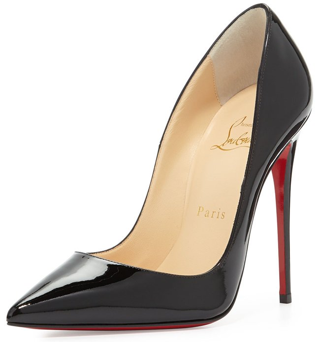 "Christian Louboutin ""So Kate"" Pumps in Black Patent"