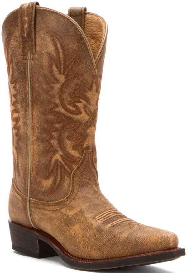 "Dingo ""Wildwood"" Cowboy Boots in Tan"