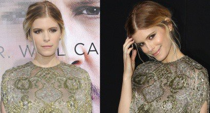 """c11dfe4fb091 Kate Mara Shimmers in Jimmy Choo at """"Transcendence"""" Premiere"""