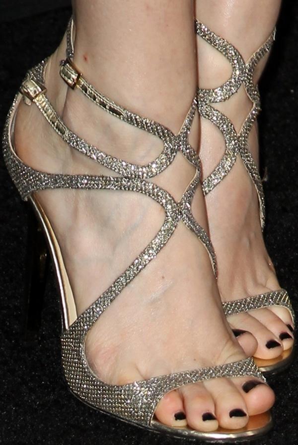 Kate Mara wearing Jimmy Choo heels' held at Regency Village Theatre in Los Angeles, California, on April 10, 2014