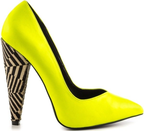 "Keyshia Cole by Steve Madden ""Excit"" Pumps in Yellow Multi"