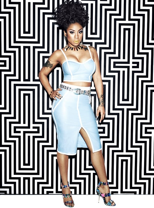 Keyshia Cole as the face of Steve Madden's Spring/Summer 2014 advertising campaign for the second Keyshia Cole by Steve Madden collection
