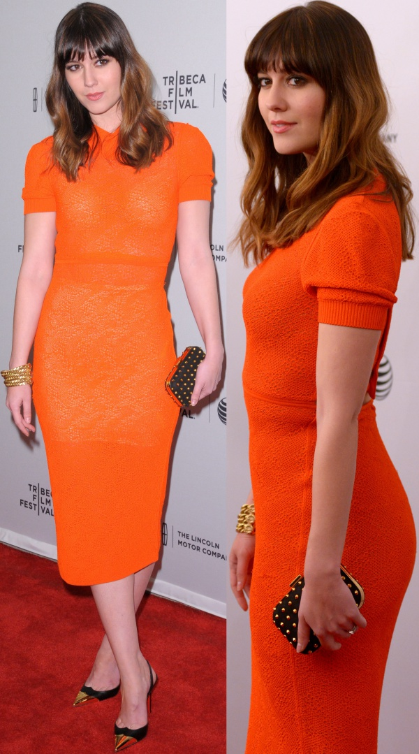 Mary Elizabeth Winstead at the premiere of Alex of Venice during the 2014 Tribeca Film Festival held at the SVA Theatre in New York City on April 18, 2014