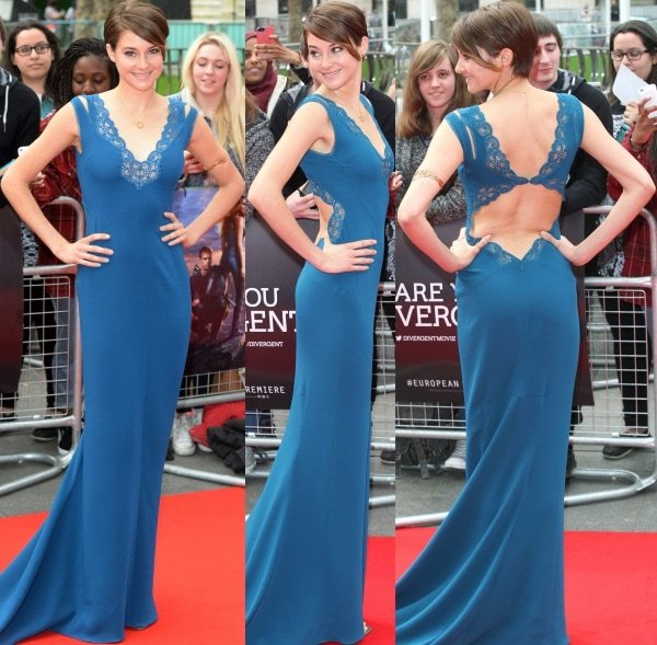 """Shailene Woodley swept us off our feet in the """"Betta"""" gown from Stella McCartney's Spring/Summer 2014 collection"""
