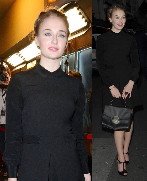 Sophie Turner attends the 'Game of Thrones, Season 4' Paris premiere