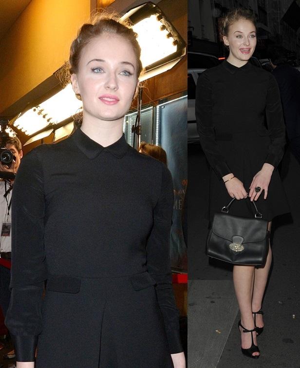 Sophie Turner attends the 'Game of Thrones, Season 4' Paris premiere