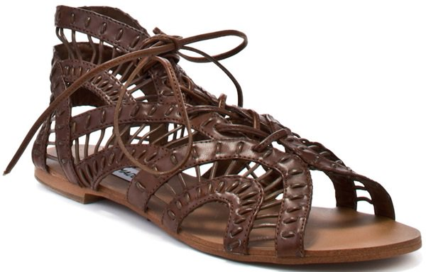"""Steve Madden """"Paiigge"""" Lace-Up Sandals"""