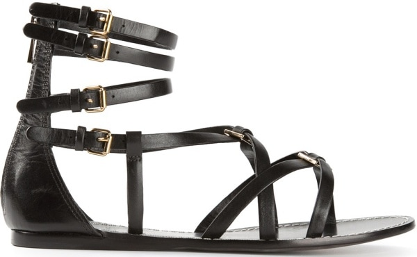 "Tory Burch ""Dandal"" Sandals in Black"
