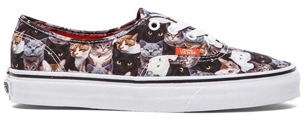 vans sneakers in cats