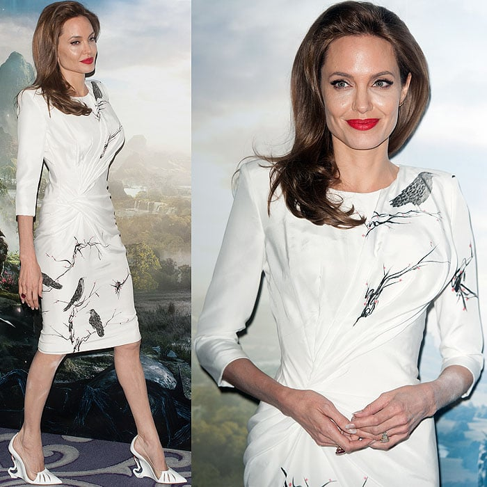 Angelina Jolie at the 'Maleficent' photo call at the Corinthian Hotel in London, England, on May 9, 2014