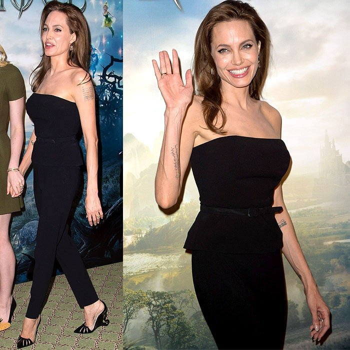 Angelina Jolie at the 'Maleficent' photo call at Hotel Bristol in Paris, France, on May 6, 2014