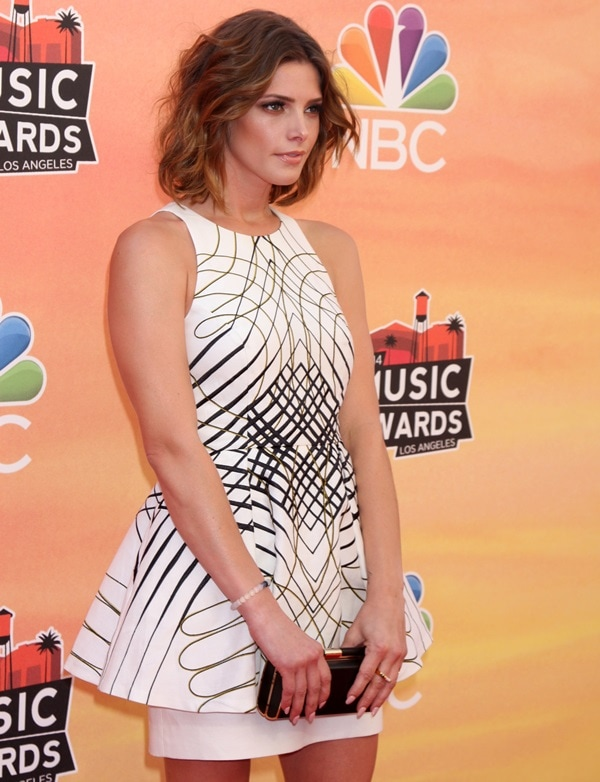Ashley Greene at the 2014 iHeartRadio Music Awards at the Shrine Auditorium in Los Angeles on May 1, 2014