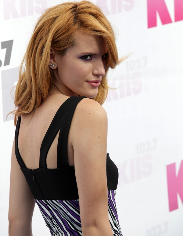 Actress Bella Thorne attends 102.7 KIIS FM's 2014 Wango Tango at StubHub Center on May 10, 2014, in Los Angeles