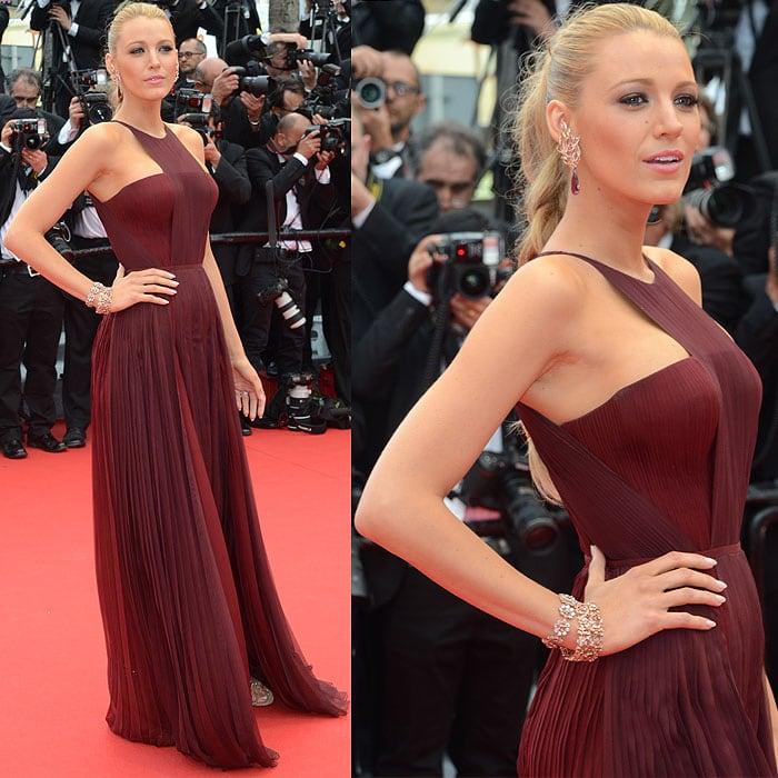 Blake Lively Cannes Film Festival 2014 1