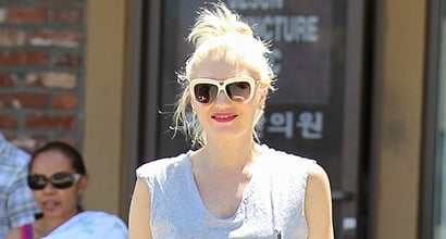 4d3800fe7c9d7 Gwen Stefani Pampers Herself in L.A.M.B.  Freeda  Wedge Sneakers