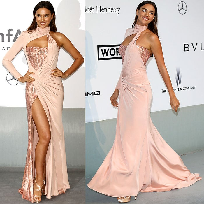 Irina Shayk at the amfAR 21st Annual Cinema Against AIDS Gala