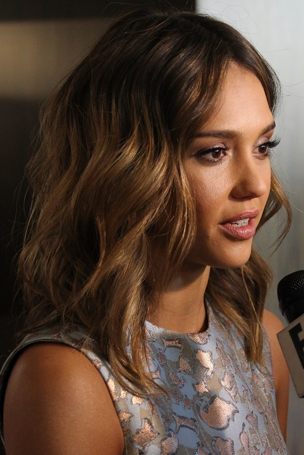 Jessica Alba at the Helping Hand of Los Angeles Mother's Day Luncheon