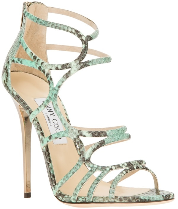 Jimmy Choo Green Sling Sandal