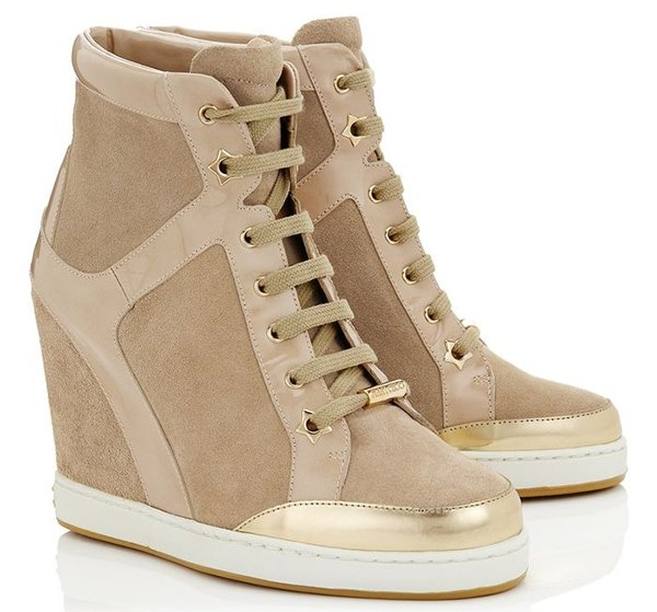 Jimmy Choo Panama Wedge Sneakers