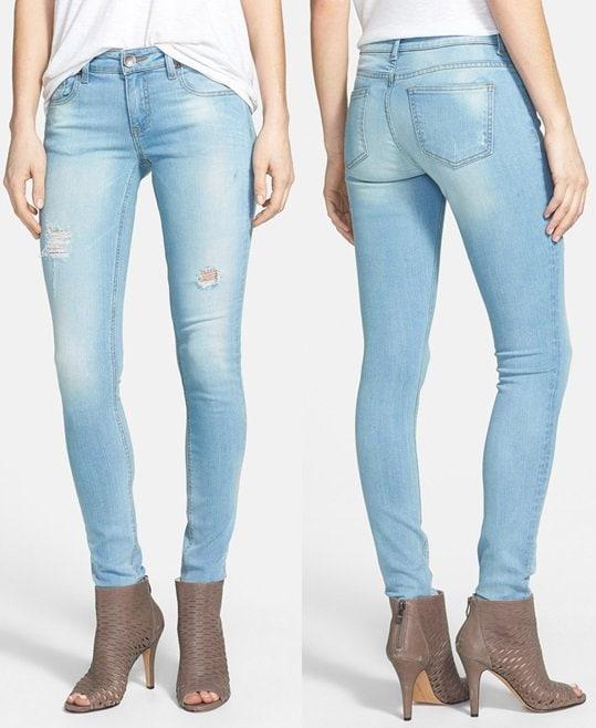 KUT from Kloth Mia Distressed Skinny Jeans
