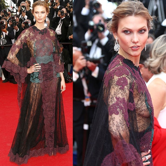 Karlie Kloss at the Opening Ceremony of the 67th Annual Cannes Film Festival