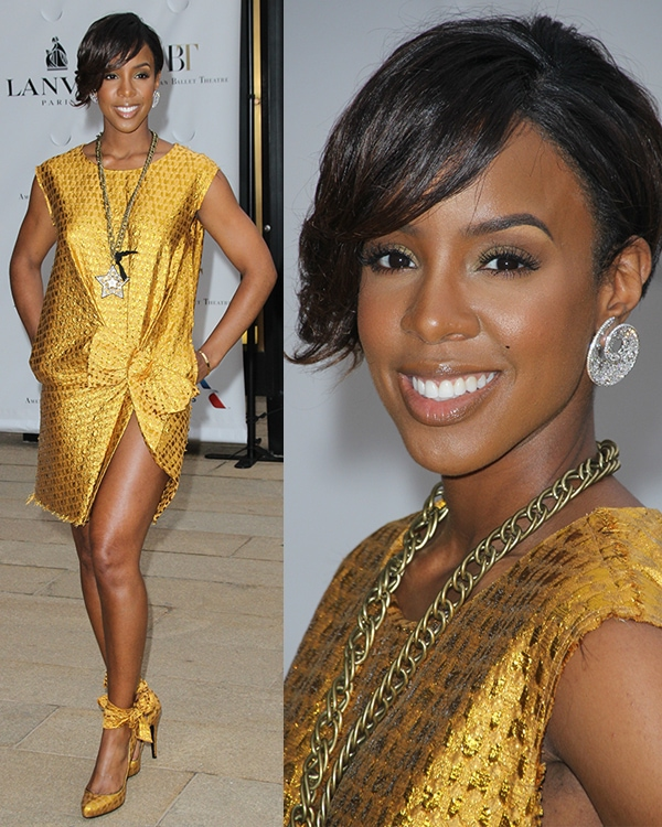 Kelly Rowland American Ballet Theatre 2014 Opening Night