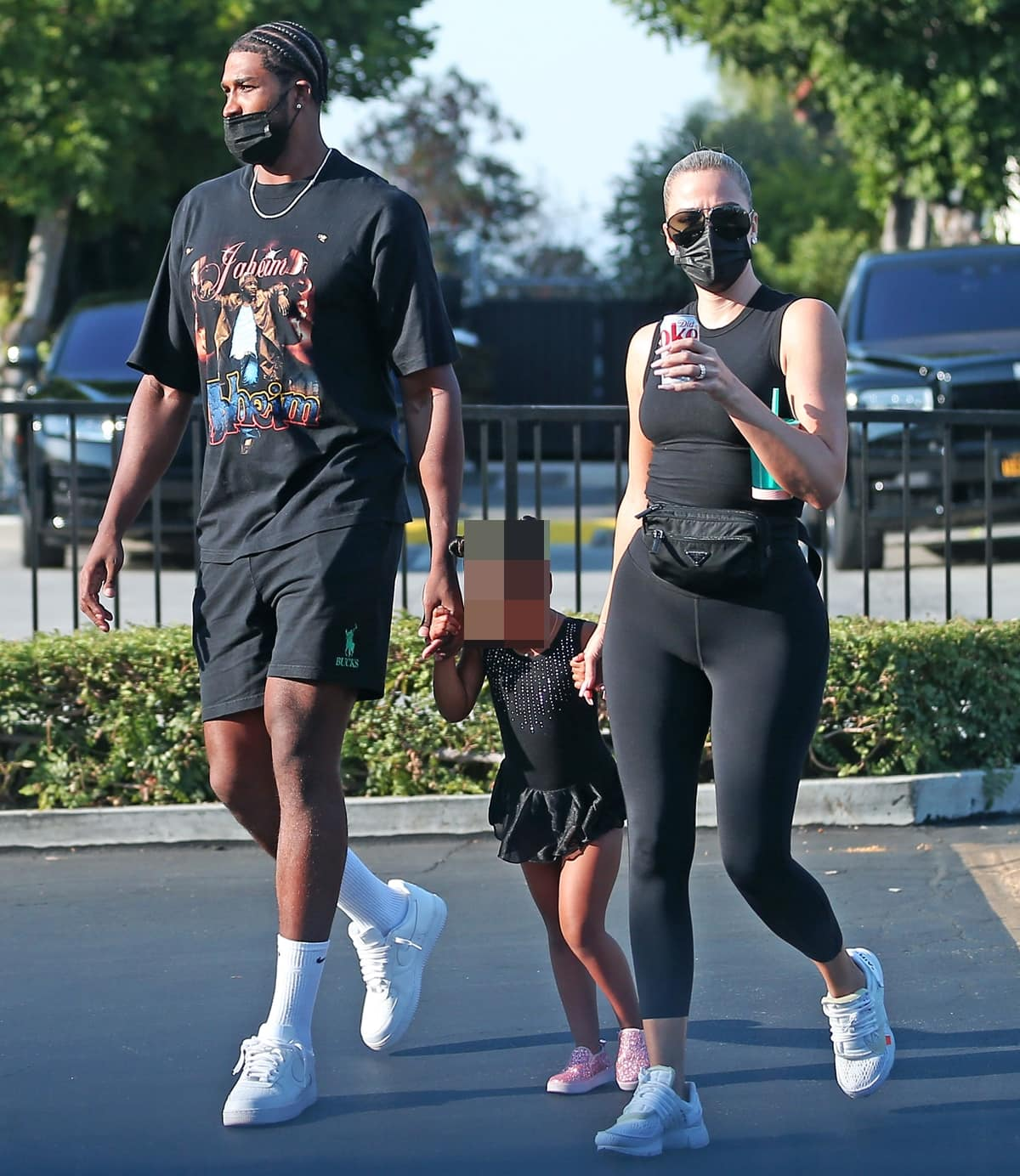 Khloe Kardashian Tristan Thompson are co-parenting their daughter True