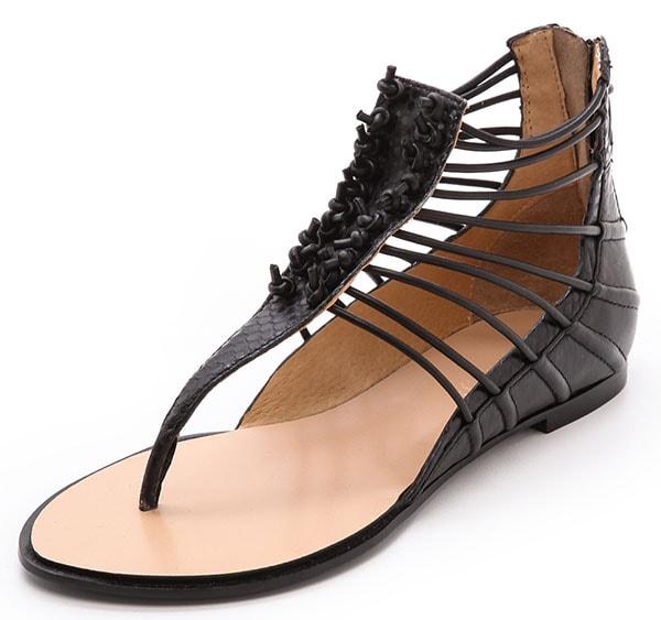 LAMB Reagon Sandals Black