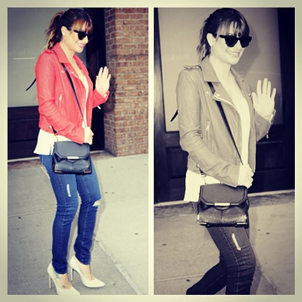 Lea Michele Elvis Duran and the Z100 Morning Show1
