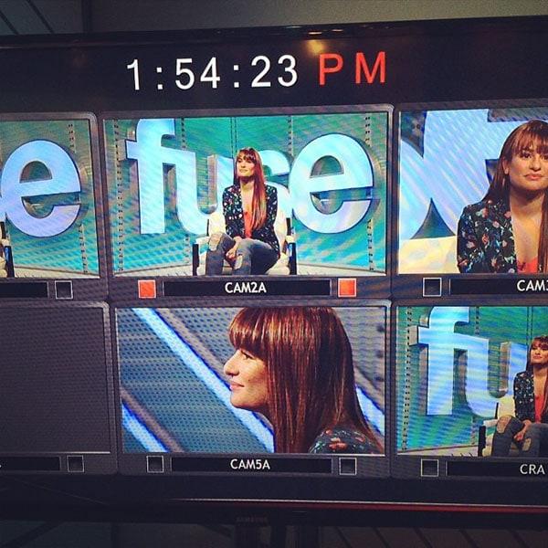 Lea Michele Fuse TV