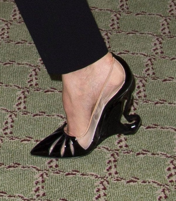 Maleficent Photocall Angelina Shoes2