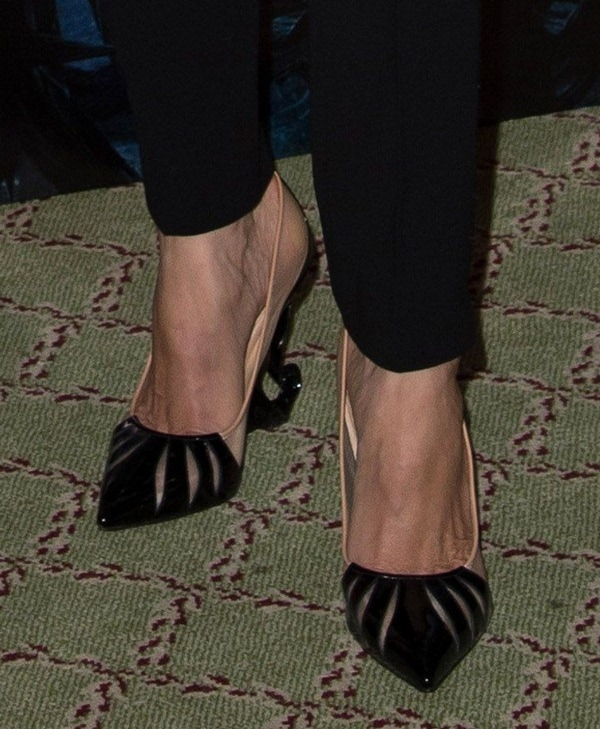 Maleficent Photocall Angelina Shoes3