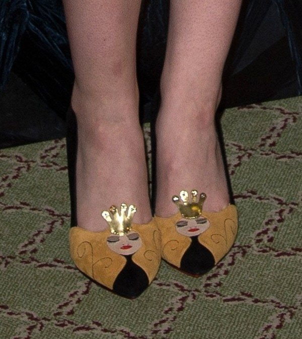 Maleficent Photocall Elle Shoes2