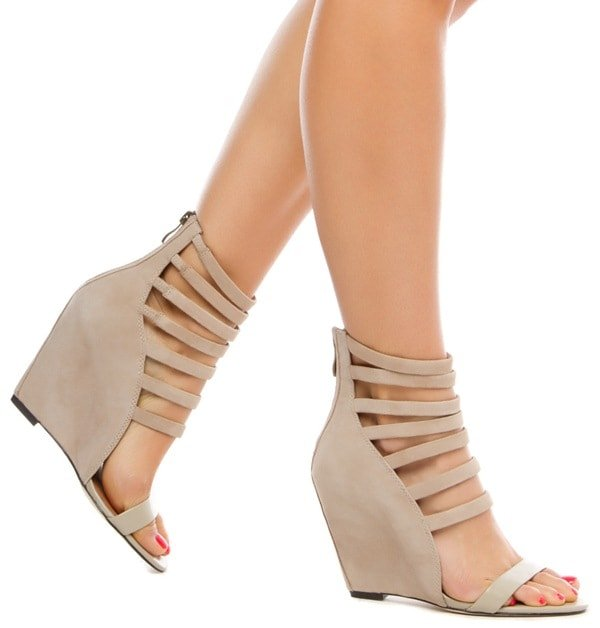 Mia Kane Heels in Taupe