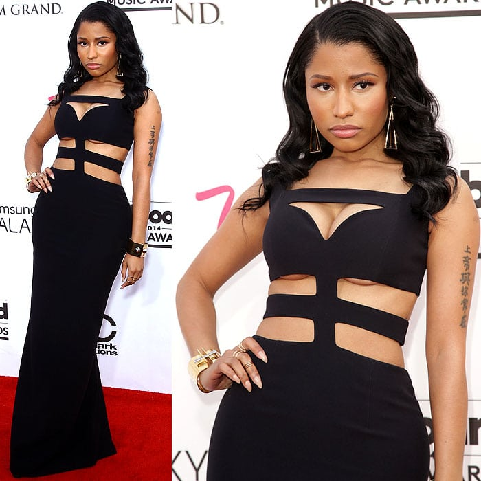 Nicki Minaj at the 2014 Billboard Music Awards held at the MGM Grand Garden Arena in Las Vegas, Nevada, on May 18, 2014