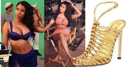 88d5a49622d Nicki Minaj Flaunts Unreal Curves for Myx Fusions Commercial