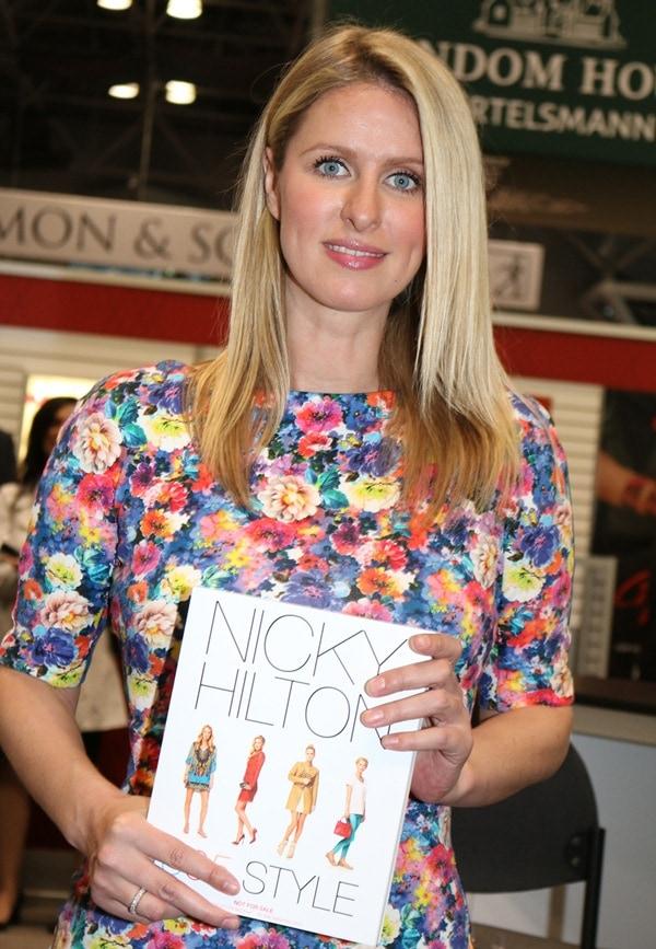 Nicky Hilton Boox Expo2