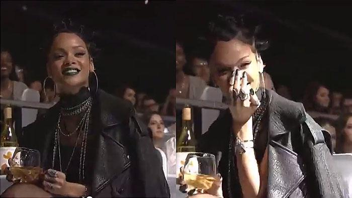 Rihanna shade Ariana Grande