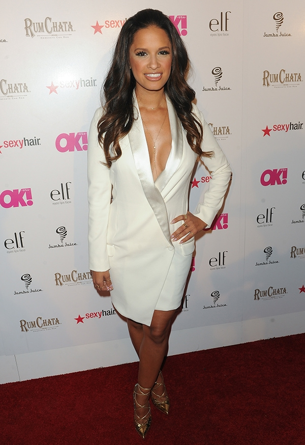 Rocsi Diaz at OK! Magazine's So Sexy event held at Lure Patio in Los Angeles on May 21, 2014