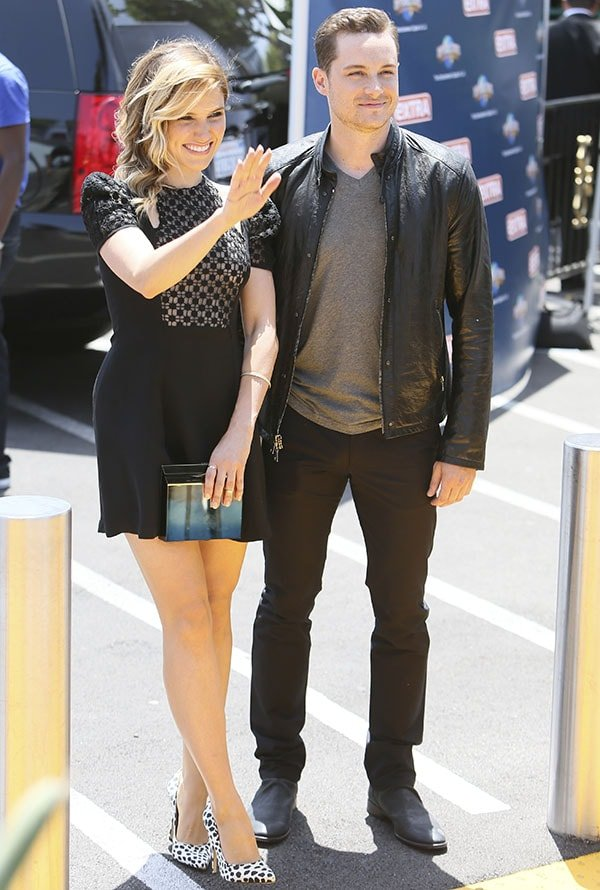 Sophia Bush and her Chicago P.D. co-star Jesse Lee Soffer dated for about a year and then grew apart